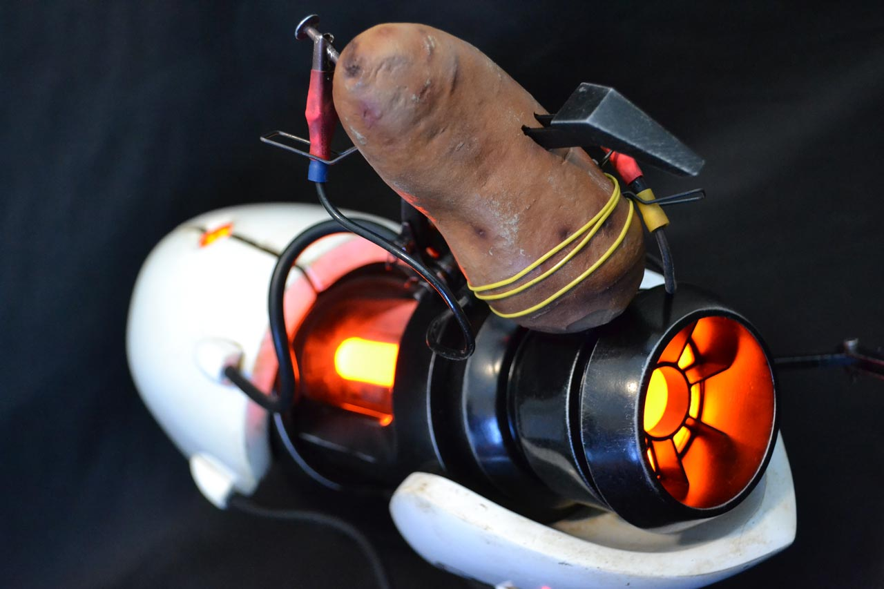 glados portal 2 potato - photo #7