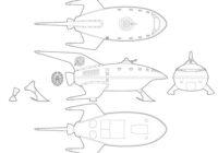 Futurama_PlanetExpressShip