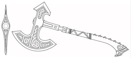 Skyrim-Steel-Axe