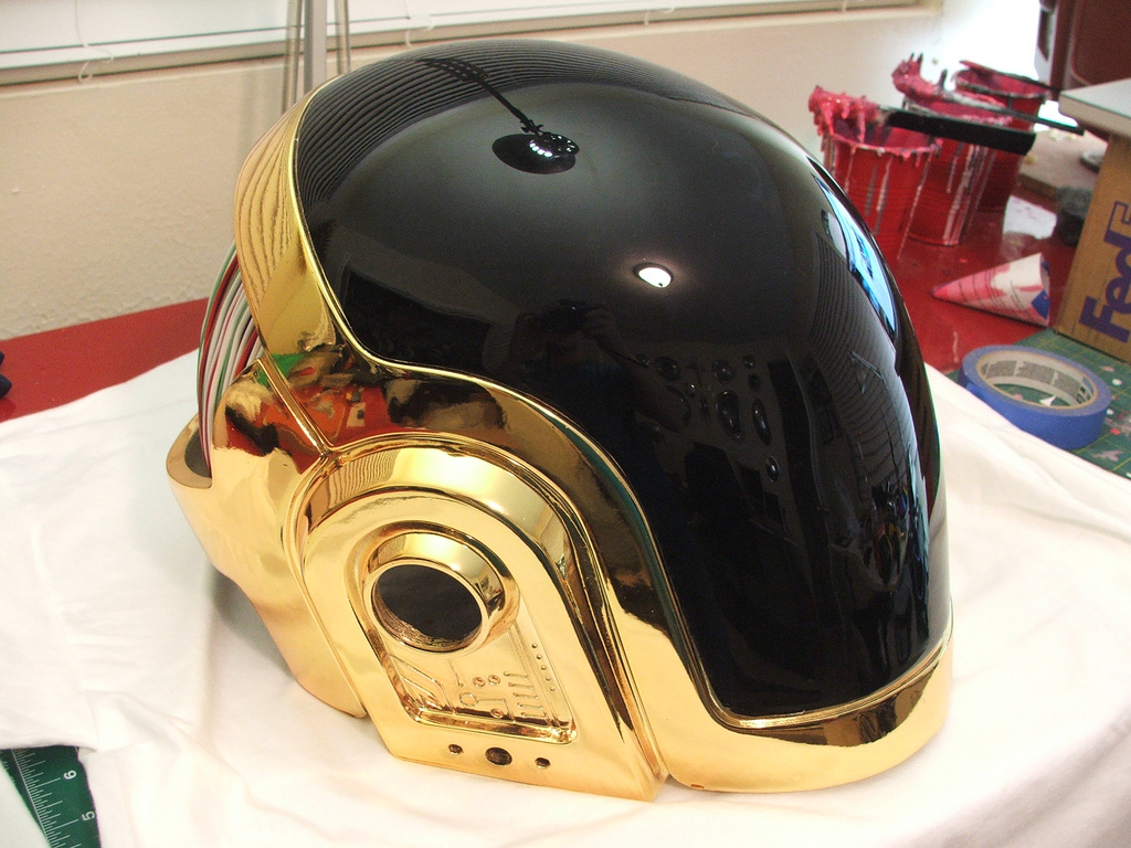 Volpin Props Completely Finished Daft Punk Helmet Replica